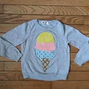 H&M Ice Cream Shirt Sweater